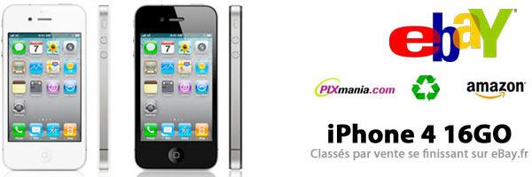 iPhone 4 16GO Les Offres du jour