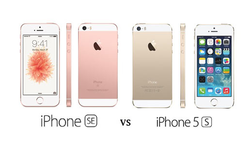 Apple-iPhone-SE-VS-iPhone-5S-Comparaison