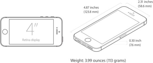 iphone-se-dimensions